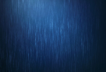 rain water drop falling in rainy season with dark blue color as