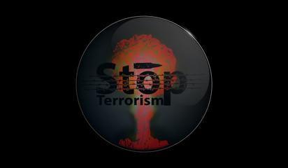 illustration stop terrorism
