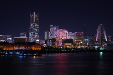 横浜みなとみらい 夜景