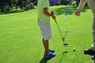 Golf junior lesson