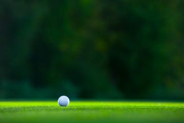 Foto op Aluminium Golf Ball