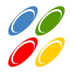 Multi Colored Orbit Ring