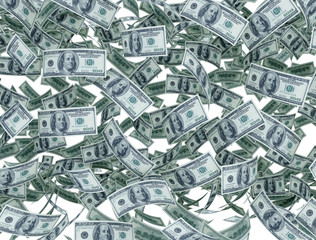 US dollar - money background
