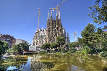La Sagrada Familia Cathedral, Barcelona