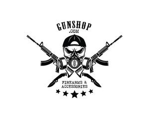 Gun Shop Logo