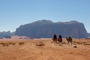 Jordanie, nomades dans le désert du Wadi Rum