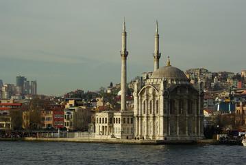 Istanbul, la mosquée Ortaköy, Turquie