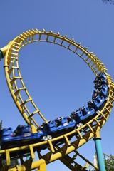 Amusement park in Santiago, Chile