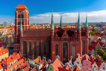 Stores à enrouleur Europe de l Est St Mary Church in Gdansk, Poland