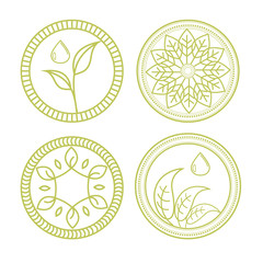 Symbol organic part 2 with variation style