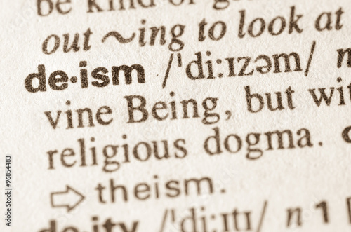 Lovely Dictionary Definition Of Word Deism