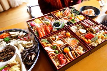 Japanese new Year dishes Osechi - お正月にたべる「おせち料理」