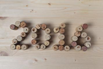Wine corks closeup 2016