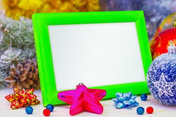 Photo frame for Christmas