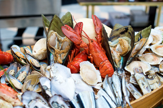 Seafood lobster