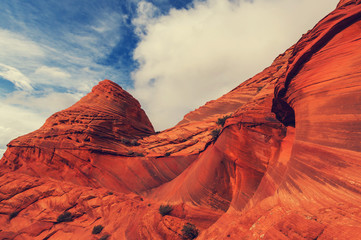 Photo sur Aluminium Brique Utah landscapes