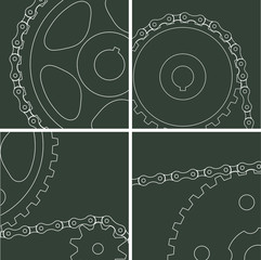 elements of the chain drive