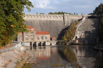 Dam on Lomnica River in Karpacz