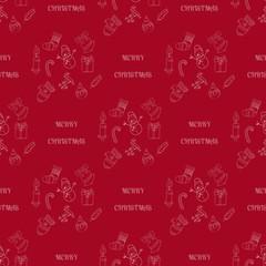 Seamless vector pattern Christmas eps10