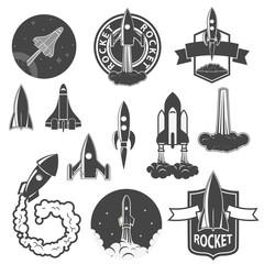 rocket labels set.