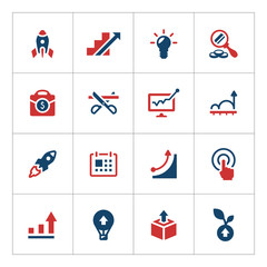 Set color icons of start-up