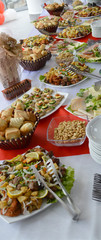 banquet, catering food