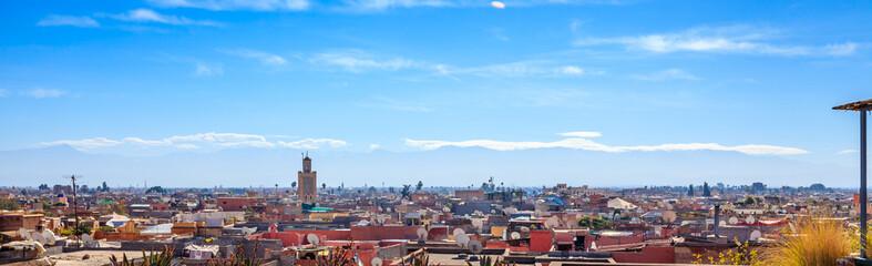 Marrakesh rooftop view