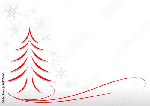 Sfondi Natalizi Per Email.Albero Di Natale E Fiocchi Di Neve Sfondo Immagini E Vettoriali