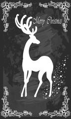 Christmas reindeer .