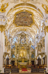 interior of Old Chapel, Regensburg, Germany
