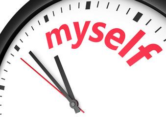 Myself Time Concept