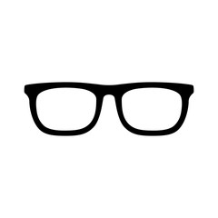 eyeglasses flat icon for app and website