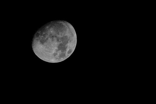 Nearly Full Waxing Gibbous Moon