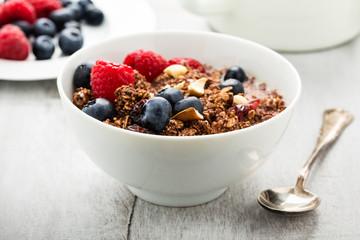 Müsli mit Beeren - Cereals with berries