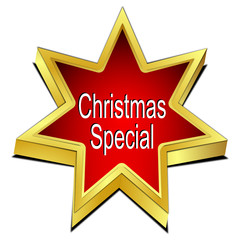 Christmas Special Star button