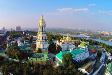 Foto op Aluminium Kiev Kiev-Pechersk Lavra