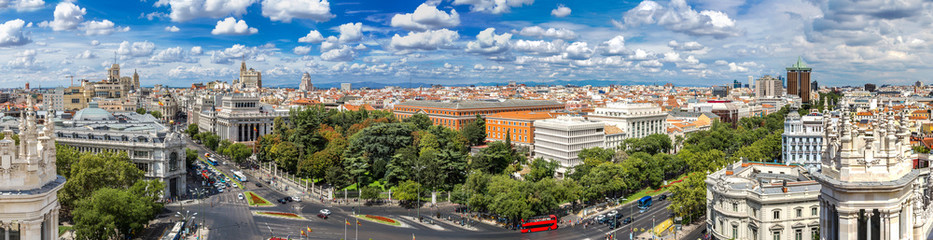 Photo sur Plexiglas Madrid Plaza de Cibeles in Madrid