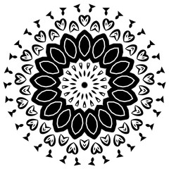 Black axisymmetric shape