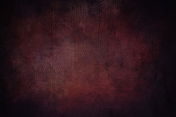 dark red background or texture with black vignette borders
