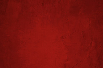 bright red wall background or texture