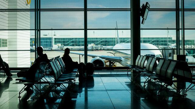 Airport terminal passenger