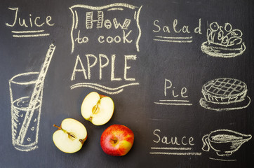 how to cook apple with apples