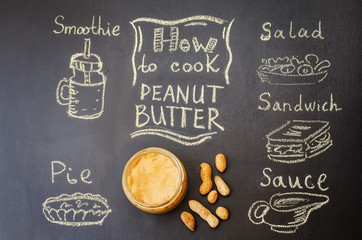 how to cook peanut butter with peanut butter