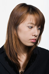 Portrait of young adult Asian woman