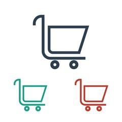 Shopping logo icon Vector