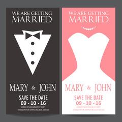 bride and groom,wedding invitation card