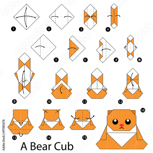 Image result for origami step by step