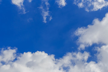 abstract cloud on blue sky