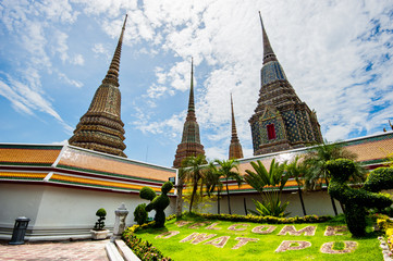 Wat Pho, Temple in Bangkok travel landmark