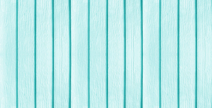 Blue wood texture banner background
